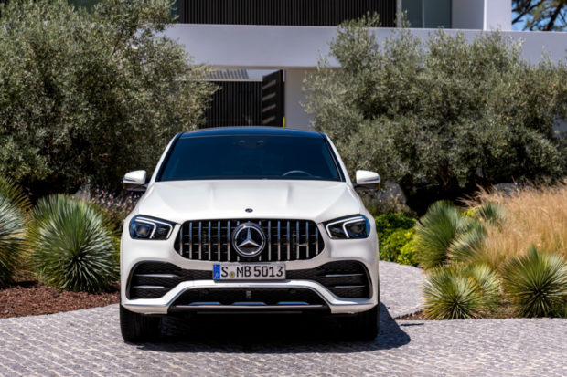 2019 Mercedes-AMG GLE 53 Coupe Front