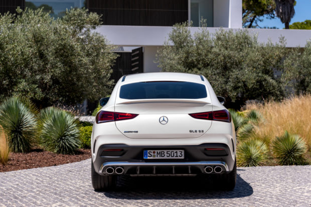 2019 Mercedes-AMG GLE 53 Coupe Heck