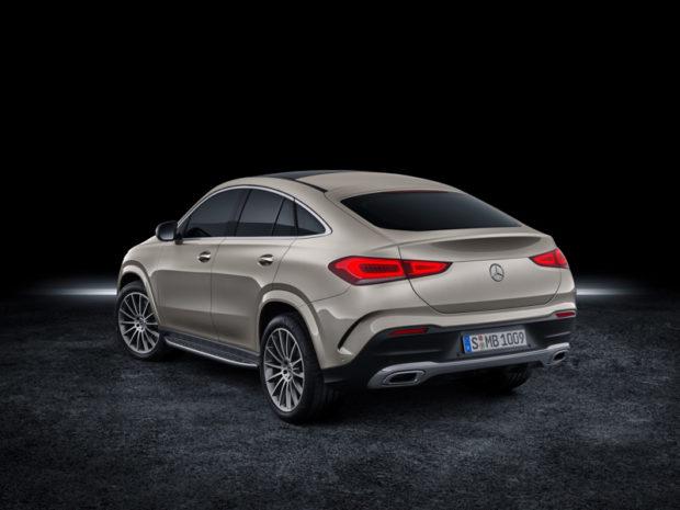 2019 Mercedes-Benz GLE Coupé mojave Silber