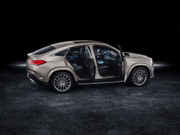 2019 Mercedes-Benz GLE Coupé Türen auf