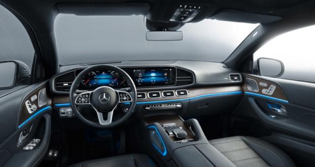 2019 Mercedes-Benz GLE Coupé Cockpit