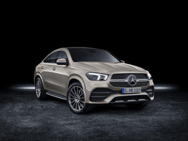 2019 Mercedes-Benz GLE Coupé Front