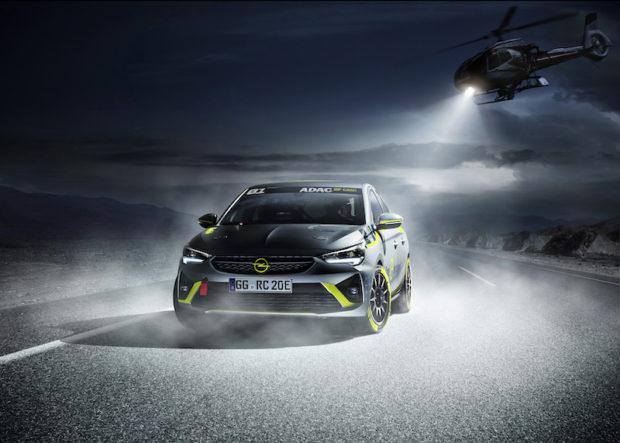 Opel Corsa-e Rally Concept IAA
