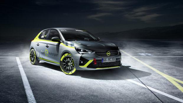 Opel Corsa-e Rallyauto