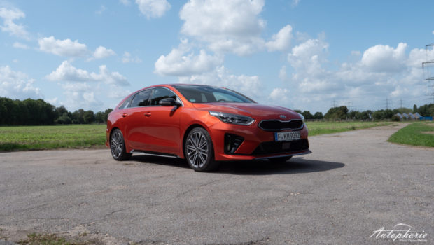 Kia ProCeed 1.4 T-GDI GT Line Sunset Orange
