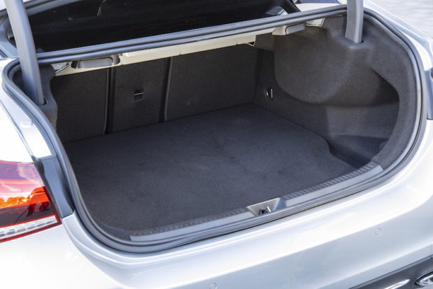 A Klasse Limousine PHEV Kofferraum