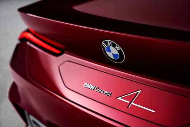 BMW Concept 4 Detail Heckdeckel