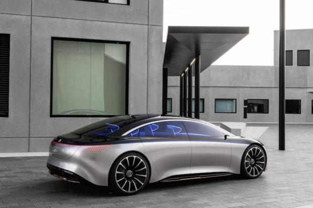Mercedes-Benz Vision EQS Heck