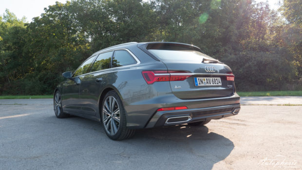 Audi A6 Avant 50 TDI quattro Heckansicht
