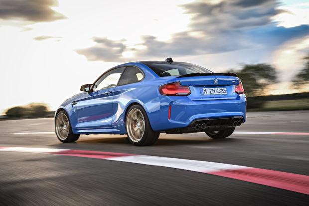 2020 BMW M2 CS Heckansicht