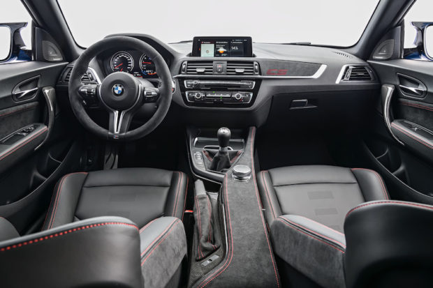 BMW M2 CS Alcantara Cockpit