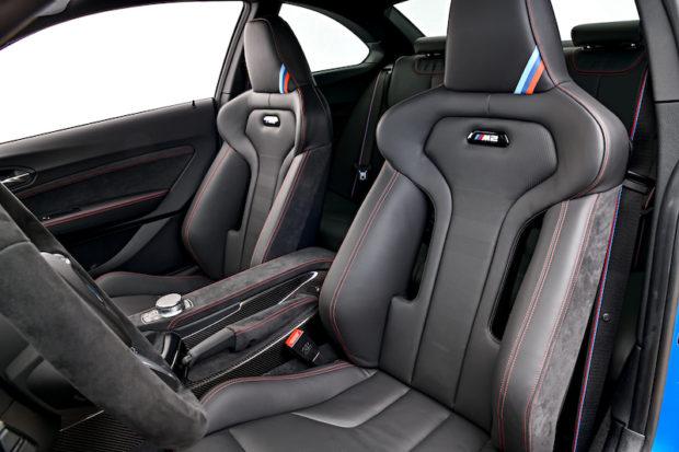 2020 BMW M2 CS Sportsitze