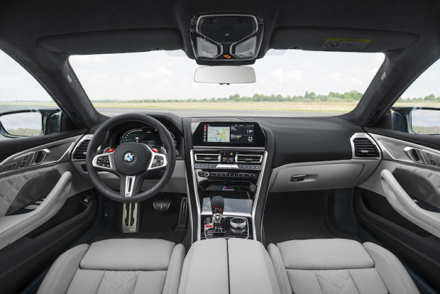 BMW M8 Gran Coupé Cockpit