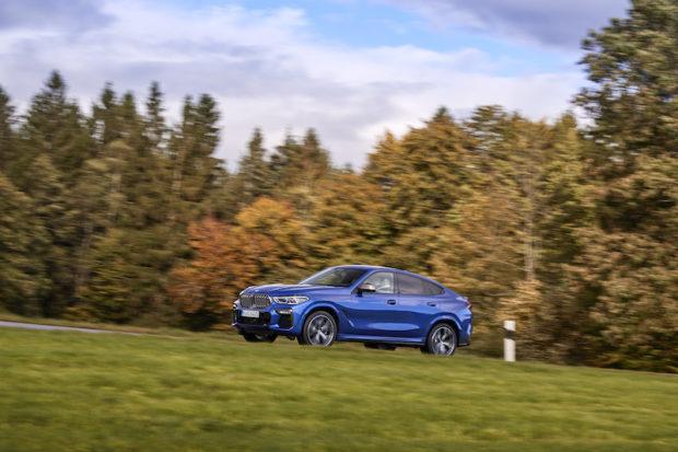 Neuer BMW X6 M50i