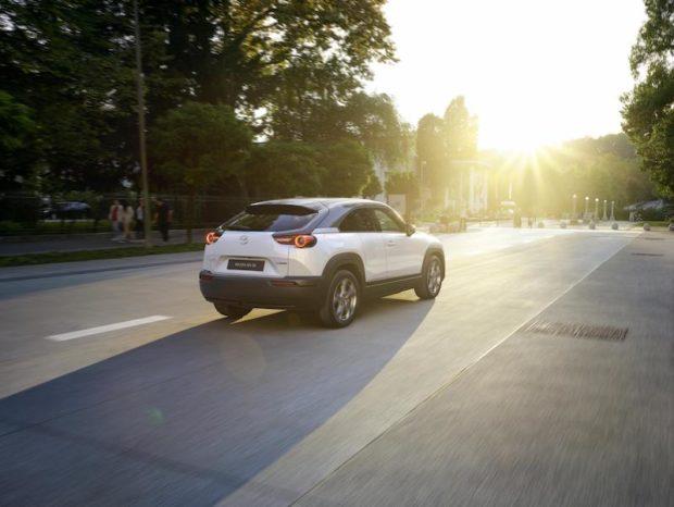 2020 Mazda MX-30 Elektroauto heck