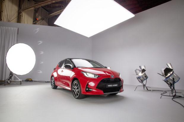 2020 Toyota Yaris Front