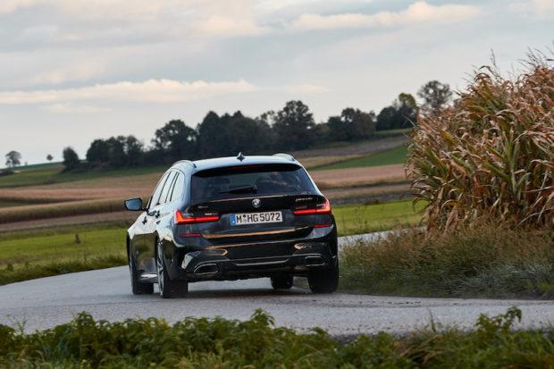 BMW M340i xDrive Touring Heck