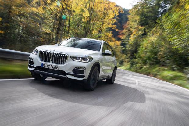 BMW X5 Plug-in hybrid Fahrend