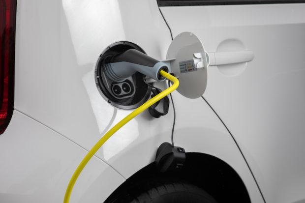 2020 Skoda CITIGOe iV Elektroauto Ladevorgang