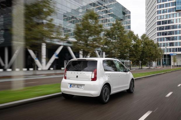 2020 Skoda CITIGOe iV Elektroauto Heckansicht