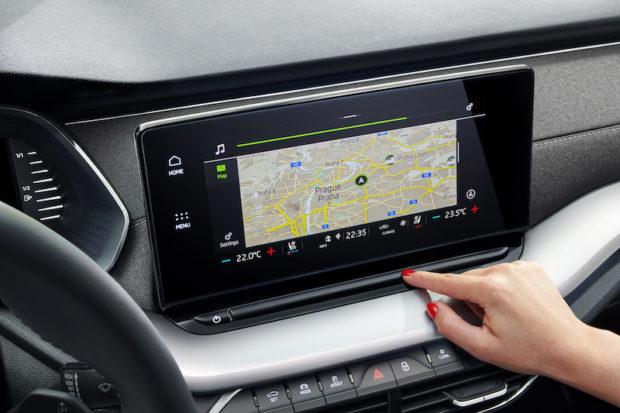 Skoda Octavia IV 2020 neues Infotainment