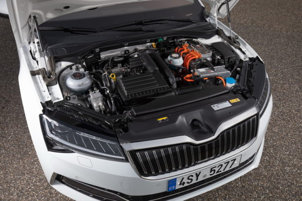 Skoda Superb iV 2020 Antrieb