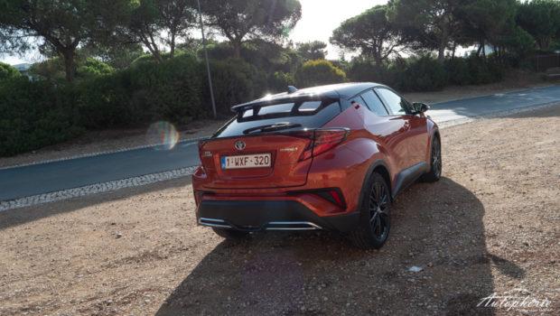 2020 Toyota C-HR Orange Edition Heck