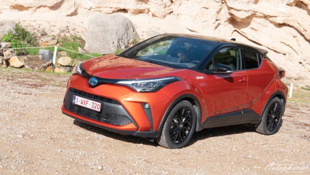 Toyota C-HR Orange Edition Front