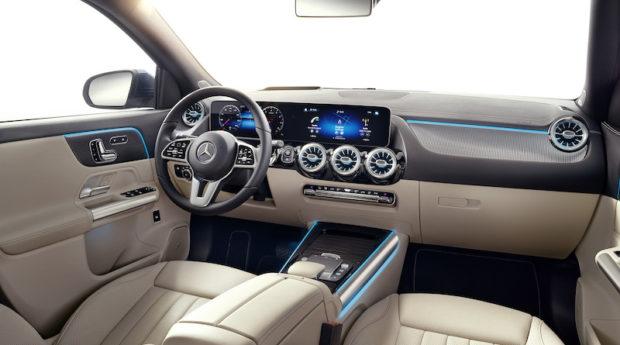 Mercedes-Benz GLA 2020 progressive interieur
