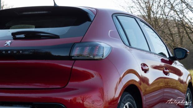 Peugeot 208 LED Rückleuchten