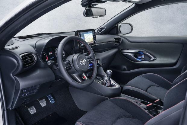 Toyota GR Yaris Cockpit