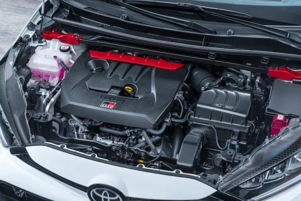 Toyota GR Yaris 3-Zylinder Motor