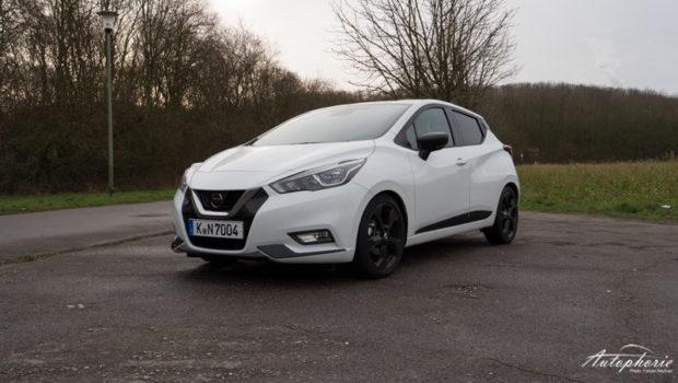 Nissan Micra N-Sport weiss front