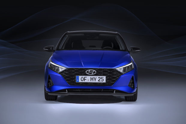 Neuer Hyundai i20 Front