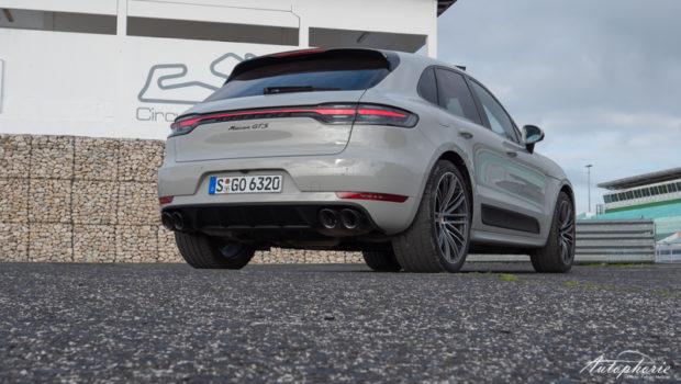 2020 Porsche Macan GTS Heck kreide