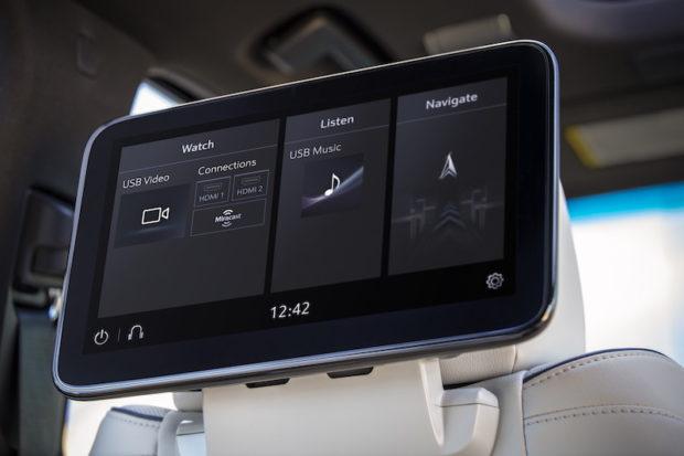 2021 Cadillac Escalade Rear Seat Entertainment
