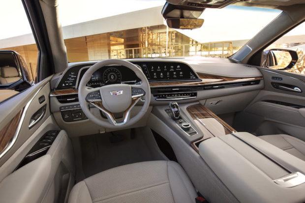 2021 Cadillac Escalade OLED Panel