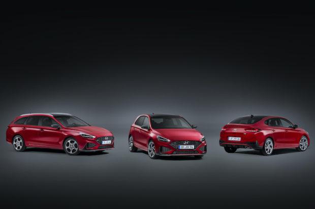 Neue Hyundai i30 Familie