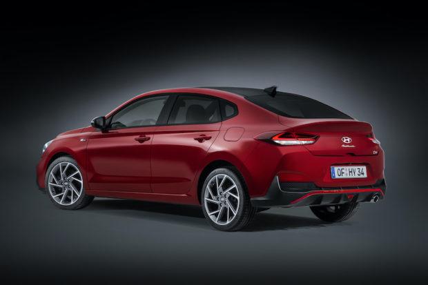 Neuer Hyundai i30 Fastback N Line Heck
