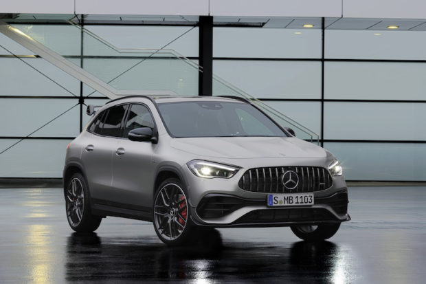 Mercedes-AMG GLA45 S 4MATIC+ Front
