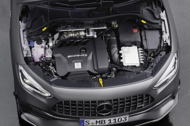 Mercedes-AMG GLA45 S 4MATIC+ Motor