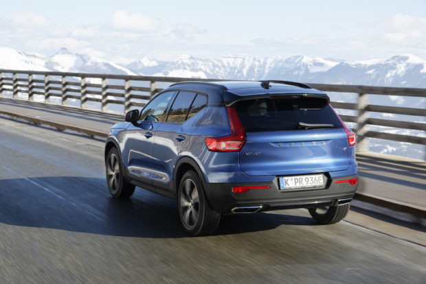 Volvo XC40 T5 Twin Engine Heckansicht