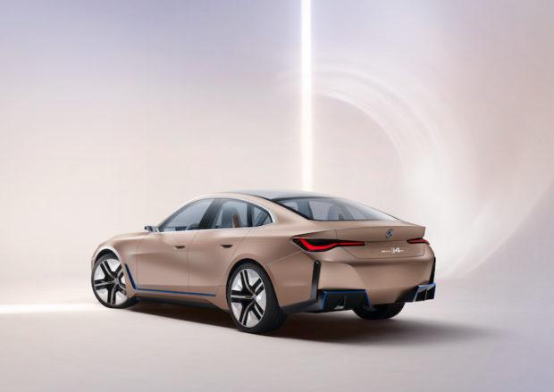 BMW Concept i4 Heck