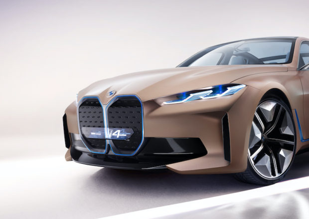 BMW Concept i4 Grill