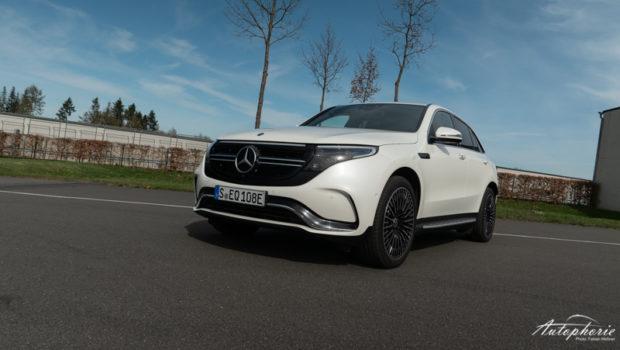 Mercedes-Benz EQC 400 4MATIC Front