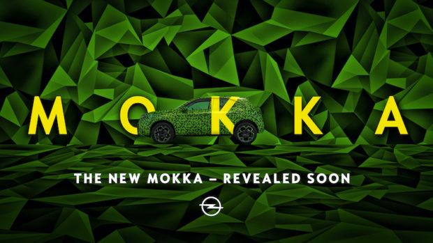 Opel Mokka 2021 Prototyp