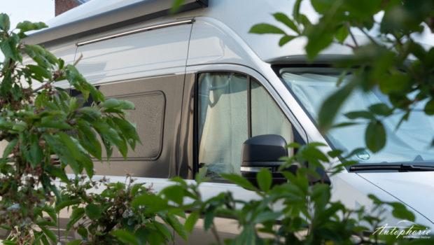 VW Grand California 600 Fahrerhaus dunkel
