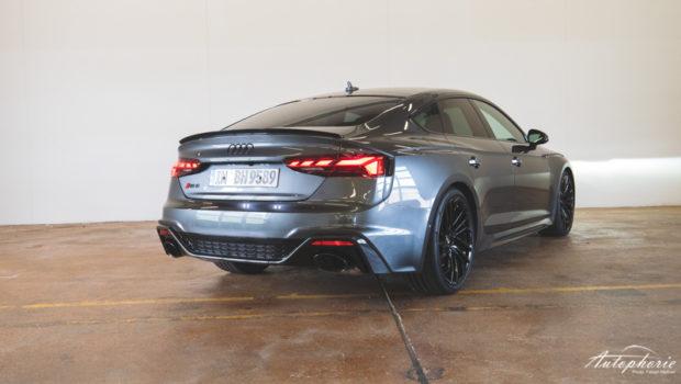Audi RS5 Sportback 2020 Heckansicht