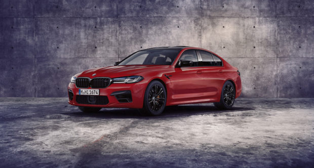 BMW M5 Competition Motegi Rot metallic
