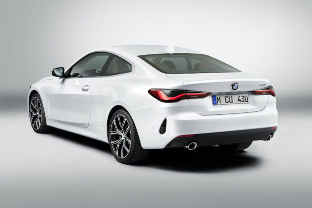 BMW 430i Heck neues Modell